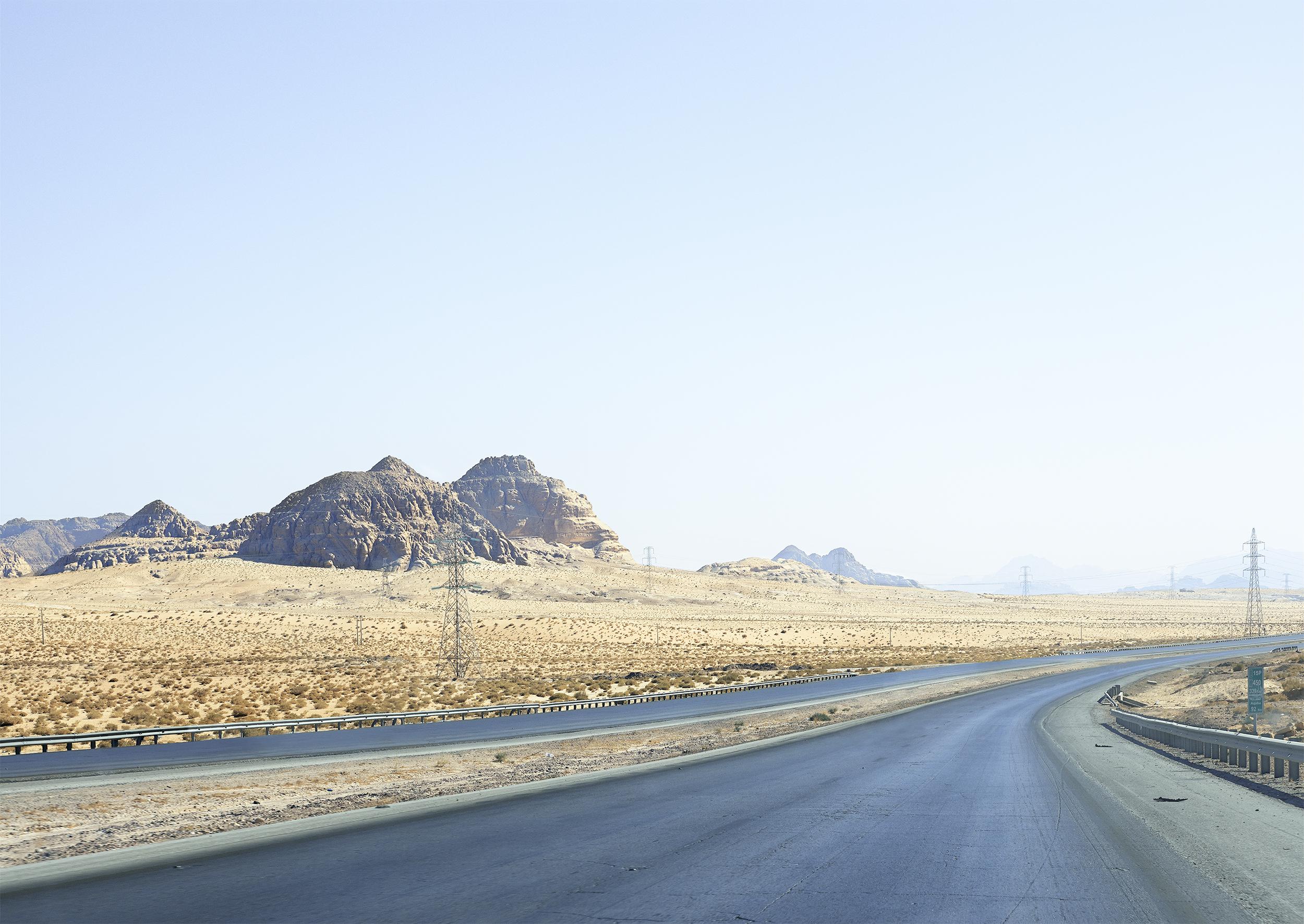 Motorway, Wadi Rum, 2013