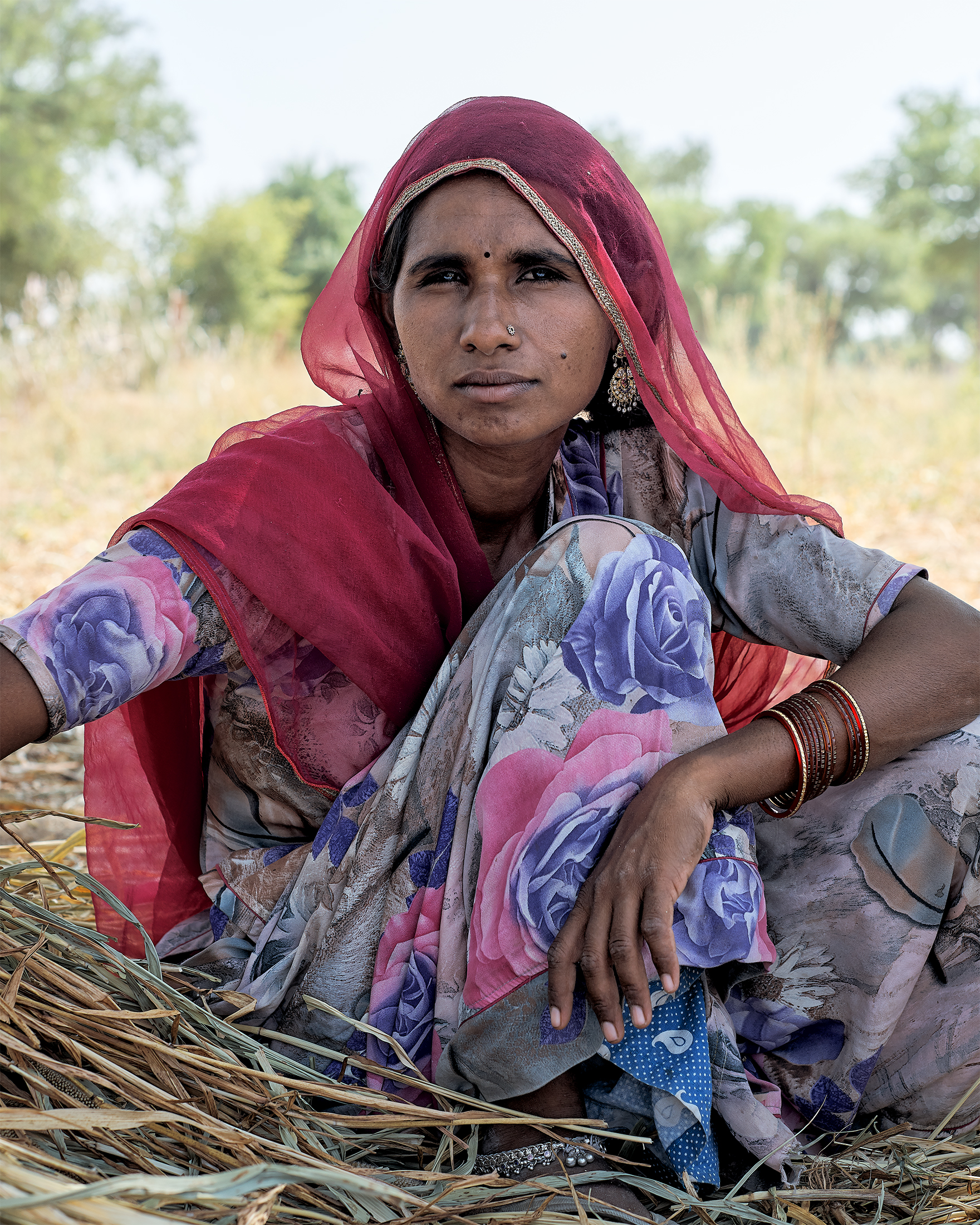 Rekha, Near Jodhpur, India, 2017-New Crop.jpg