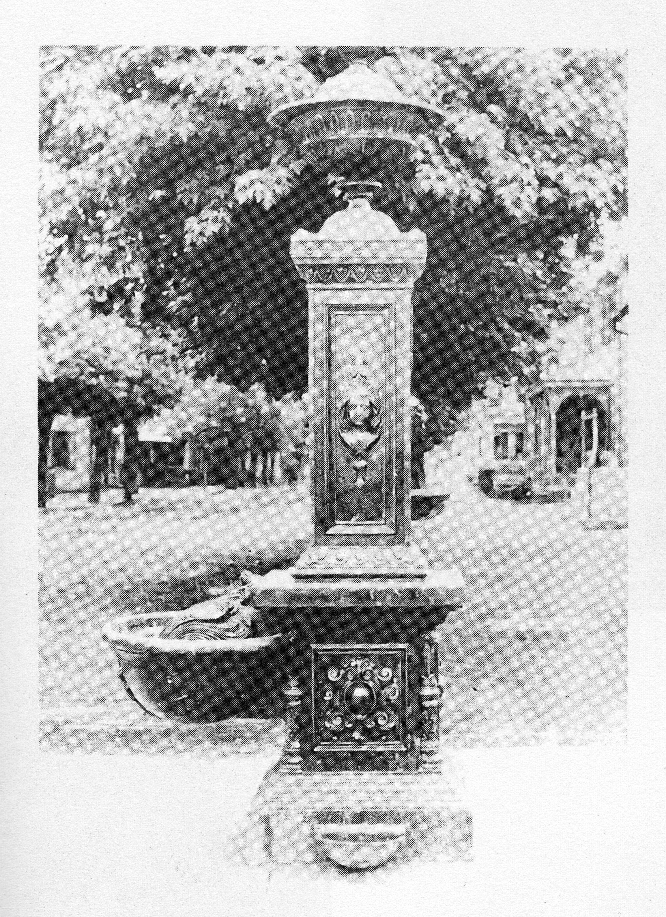 Newville Drinking Fountain, 1790
