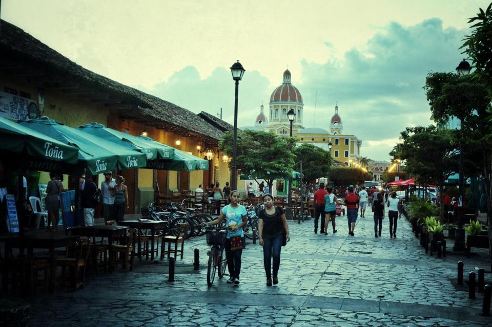 A photo I took on a recent trip to Nicaragua. This city has a strange beauty to it, a little rough around the edges.