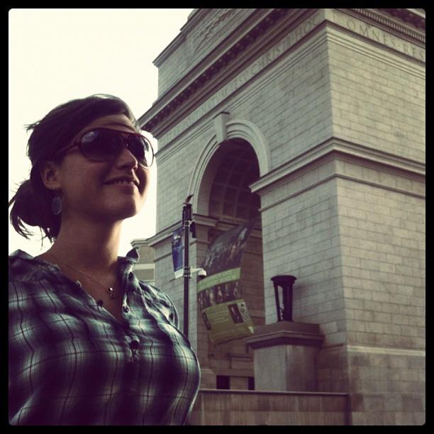 Arc de triomphe? (Taken with  instagram )