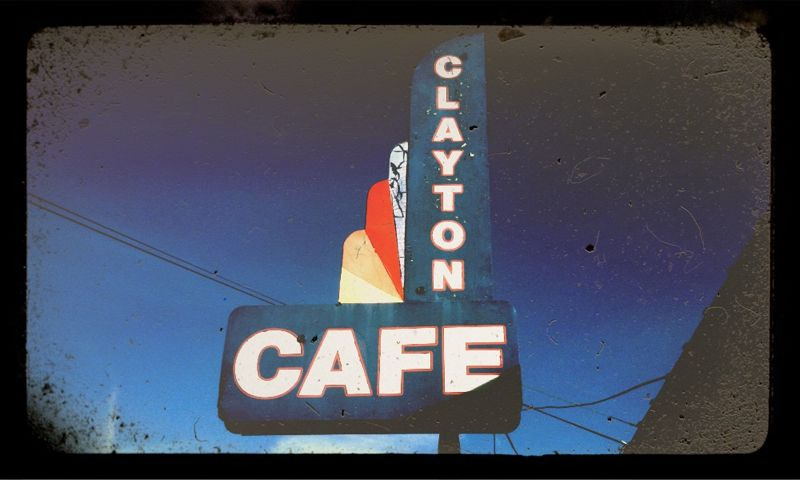 In NC, here at Clayton Cafe trying out the famous sweet potato pancakes.