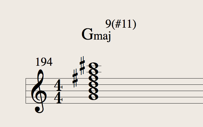 My new favorite chord, now to put it to use…