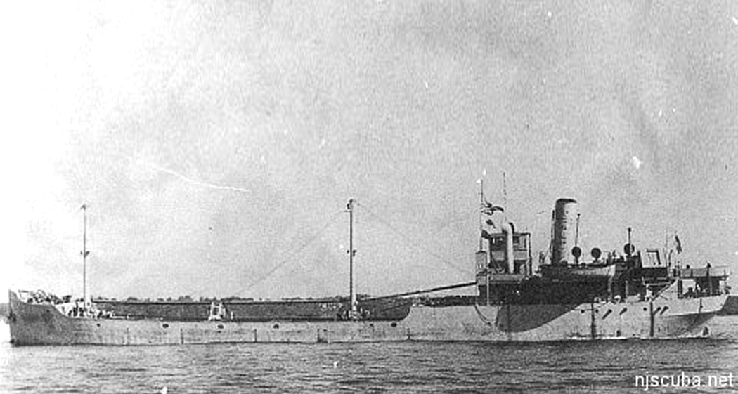Maurice Tracy - Type: Collier, USABuilt: 1916, Ashtabula OH USA, as Nordstrand, later SekstantSpecs: (253 x 43 ft) 2468 gross tonsSunk: Saturday June 17, 1944 collision with freighter Jesse Billingsley - no casualtiesDepth: 70 ft