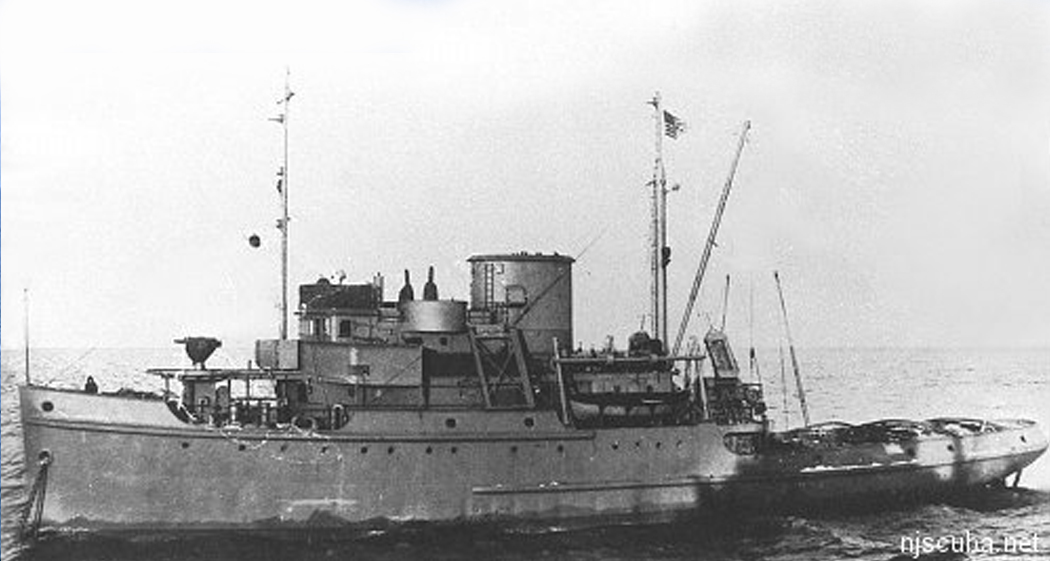 Great Isaac - Type: Tugboat, U.S. War Shipping Administration (Navy)Name: All the ships of this class were named for lighthouses in the U.S., except for the Great Isaac, which is in the Bahamas.Built: 1944, Boston MA USASpecs: (185 x 37 ft) 1117 gross tons, 27 crewSunk: Wednesday April 16, 1947 collision with Norwegian freighter Bandeirante - no casualtiesDepth: 90 ft