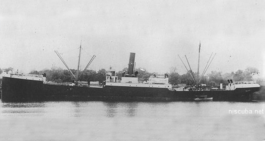 San Saba - Type: Freighter, USAName: San Saba is a river in central Texas, a tributary of the Colorado River of Texas.Built: 1879, Chester PA USA, as ColoradoSpecs: (306 x 39 ft) 2458 gross tons, 37 crewSunk: Friday October 4, 1918 struck mine laid by U-117 - 30 casualtiesDepth: 80 ft