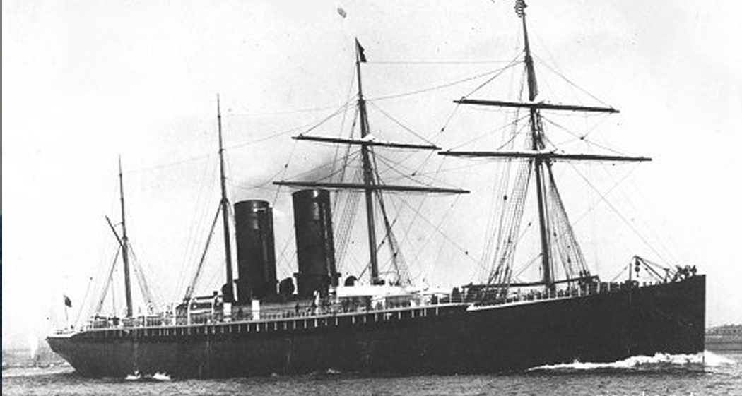 Oregon - Type: Liner, Cunard Line, EnglandBuilt: 1881, ScotlandSpecs: (518 x 54 ft) 7500 gross tons, 845 passengers & crewSunk: Monday March 14, 1886 collision, probably with schooner Charles R Morse - no casualtiesDepth: 125 ft, highest point 85 ft