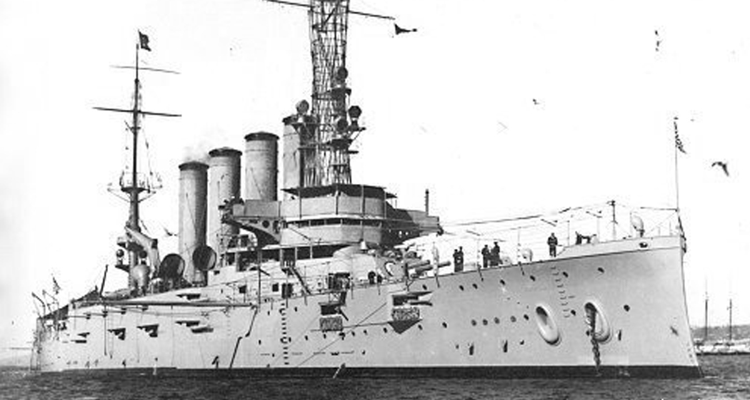 U.S.S. San Diego - Type: Armored cruiser, U.S. NavyBuilt: 1904, San Francisco USA, as U.S.S. CaliforniaSpecs: (503 x 70 ft) 13680 displacement tonsSunk: Friday July 19, 1918 explosion, probably struck a mine laid by U-156 officially 6 casualties, probably 30-40 in realityDepth: 110 ft, starts at 65 ft