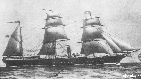 Vizcaya - Type: Steamer, SpainName: Vizcaya is a Basque province in northern Spain. The Basques are a fiercely independent seafaring people of unknown origin.Built: 1872, England, as SantanderSpecs: (287 x 38 ft) 2458 gross tons, 103 passengers & crewSunk: Saturday October 30, 1890 collision with schooner Cornelius Hargraves - 60 casualtiesDepth: 80 ft