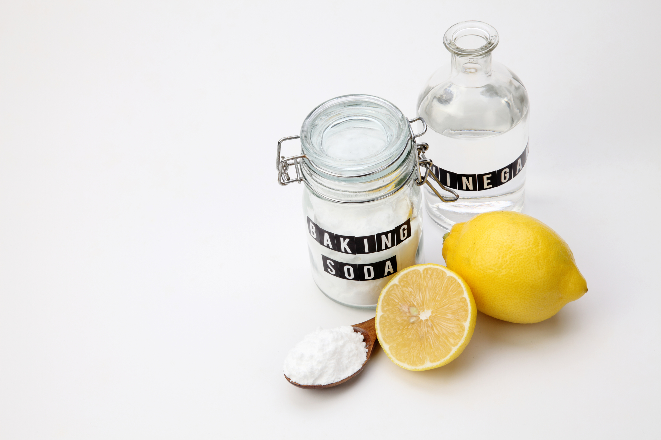 Non-toxic home cleaning 3 ingredients