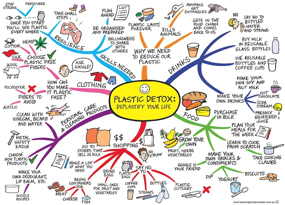 Use this handy mind map to reduce your plastic use.jpg