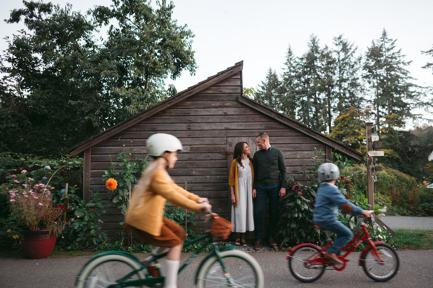 Integrative Medicine, Richmond, VA, an image of a family of four with two kids riding bikes and their parents smiling.jpg