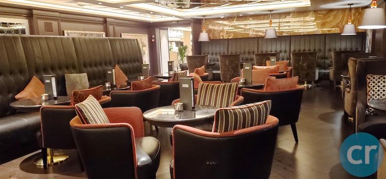 regent seven seas explorer coffee corner | cruisereport | chris dikmen