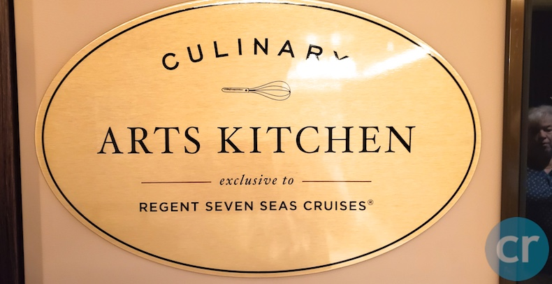 regent cruises, regent seven seas, seven seas explorer, cruise blog, seven seas explorer blog, cruise review, day at sea, culinary arts kitchen, transatlantic cruise, chris dikmen, rickee richardson