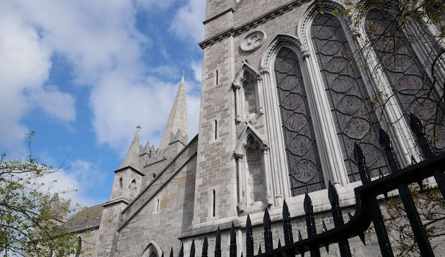 We visit St. Patrick's Cathedral in Dublin