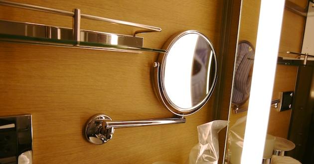 Makeup Mirror | Tauck Small Ship Cruising | CruiseReport