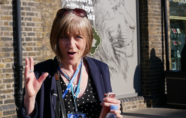 Excellent local guides, like Linda in London, really make shore excursions special