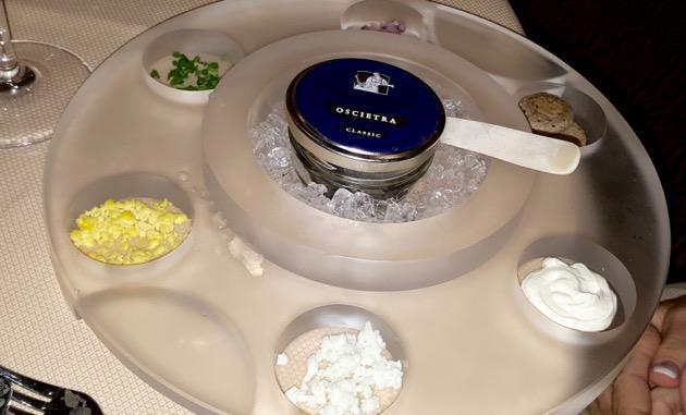 Caviar starter