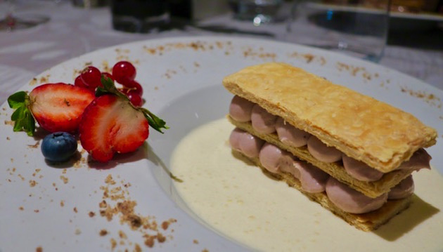 Imaginative dessert at Table D'Or.