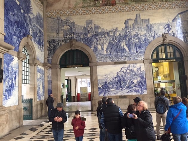 Porto railway station.