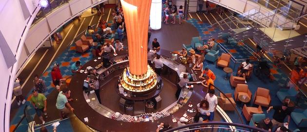 Lobby Bar | Carnival Vista | CruiseReport