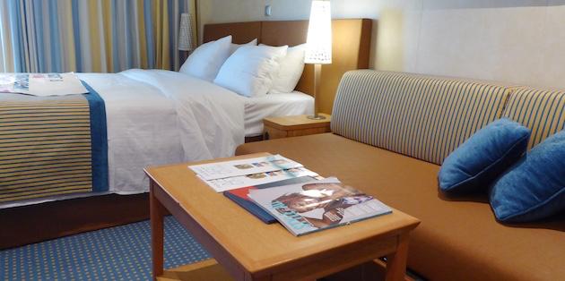 Bed and Sofa | Carnival Vista | CruiseReport