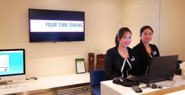 Check-in for Your Time Dining