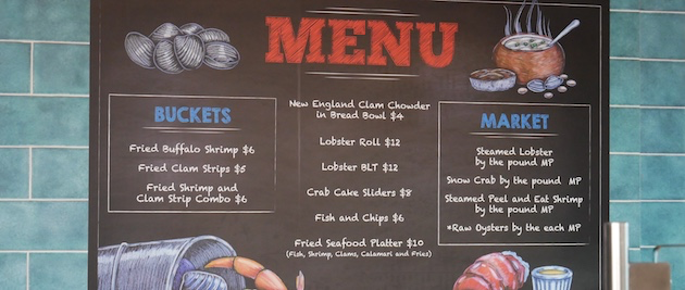 Seafood Shack | Carnival Vista | CruiseReport