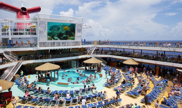 Pool (Lido) Deck | Carnival Vista | CruiseReport