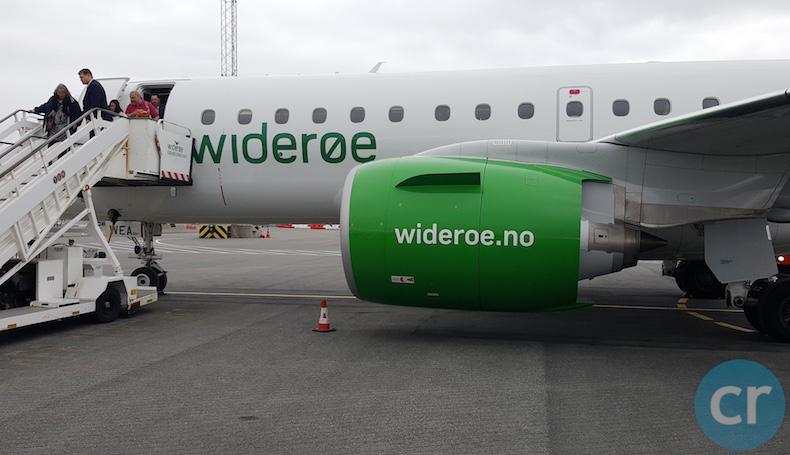Widerøe Embraer 190