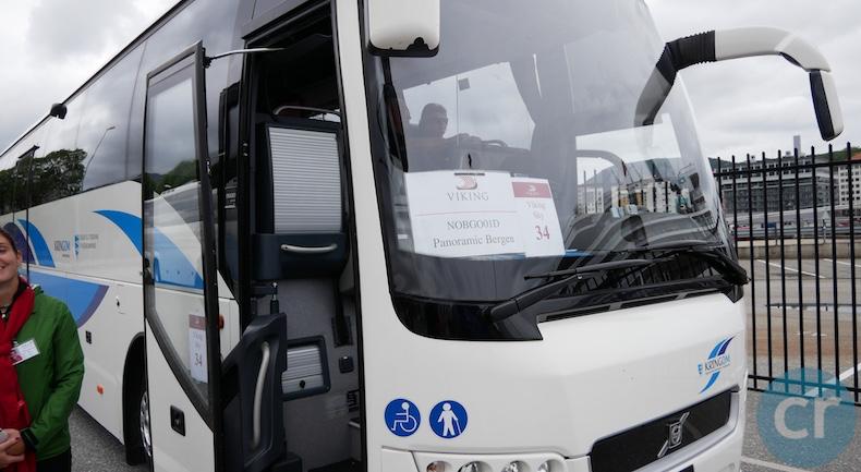 Motor coach for Panoramic Bergen