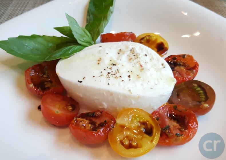 Caprese Salad at Manfredi's