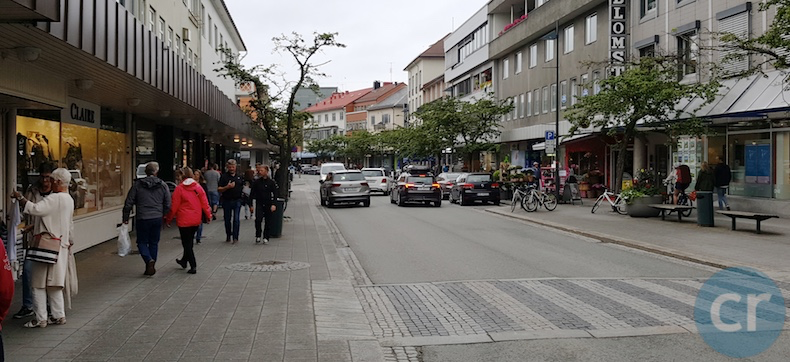 Shopping in Molde, Norway