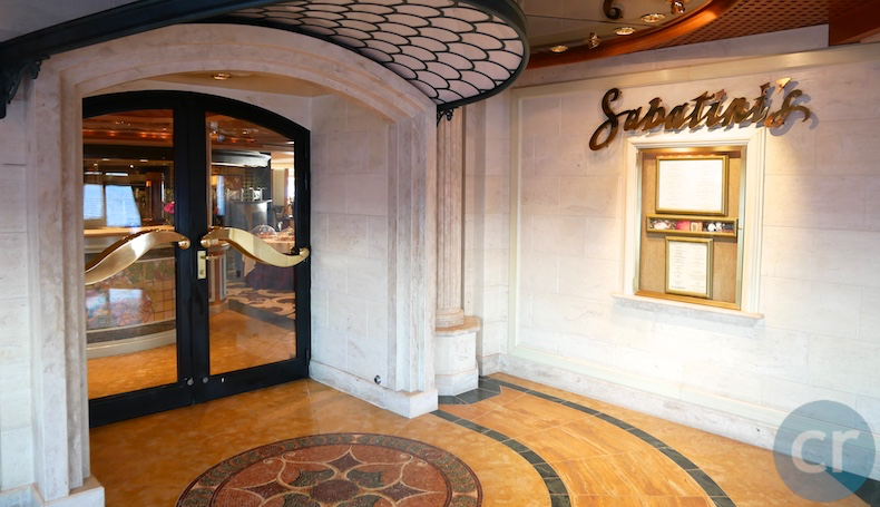 Sabatini's on Island Princess | CruiseReport