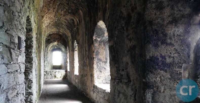 Hallway inside the castle