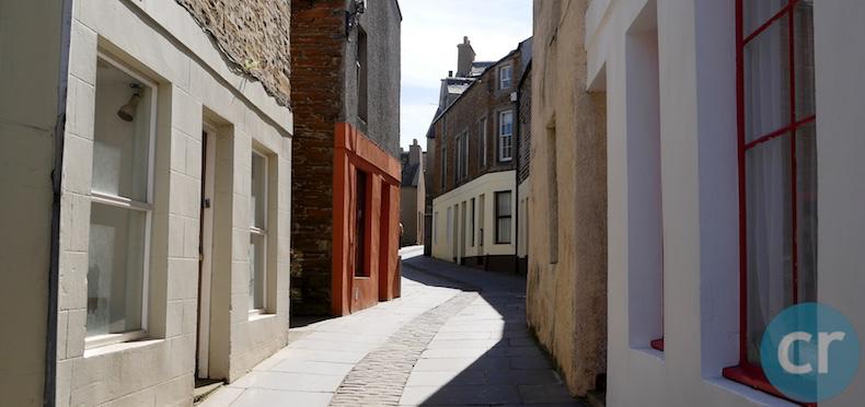 Quiet streets of Stromness