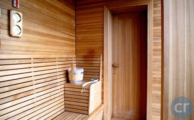 Oceanview sauna