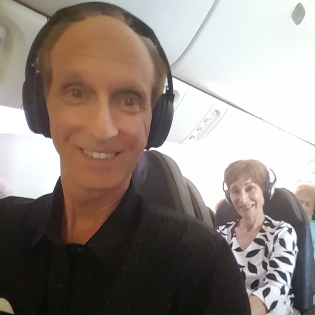The flight home on American Airlines  | CruiseReport