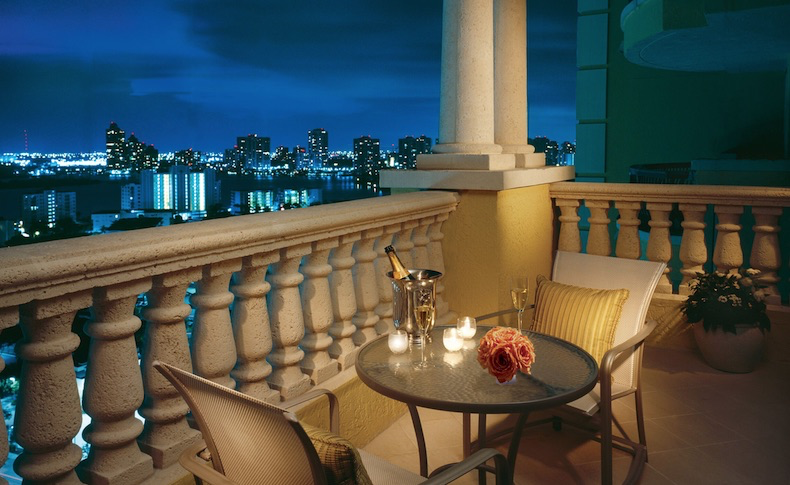 Balcony at Acqualina Resort  | CruiseReport