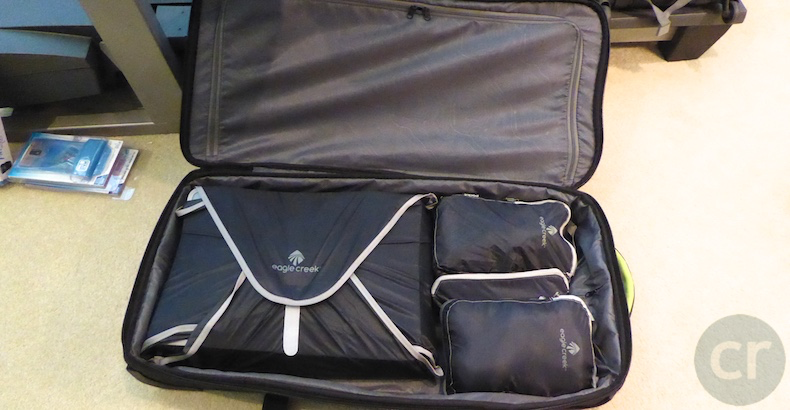 Pack-It Spectre items fit nicely into any suitcase