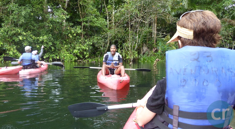 Local guide explains flora and fauna in Panama Canal    CruiseReport