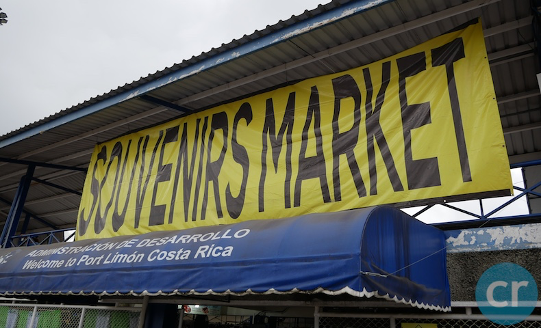 A souvenir market located right next to the peir in Limón, Costa Rica  | CruiseReport