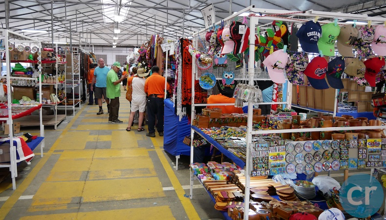 Dozens of vendors inside market