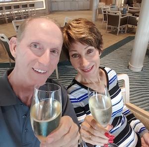Chris Dikmen and Rickee Richardson on Silversea Silver Muse | CruiseReport