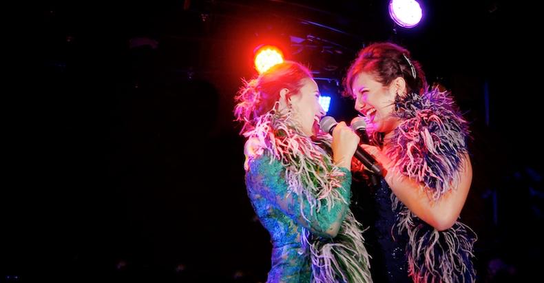 Alexandra Schwartz and Katrina Colletti