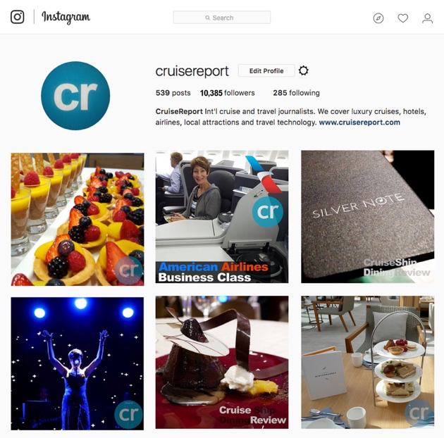 Instagram post | CruiseReport
