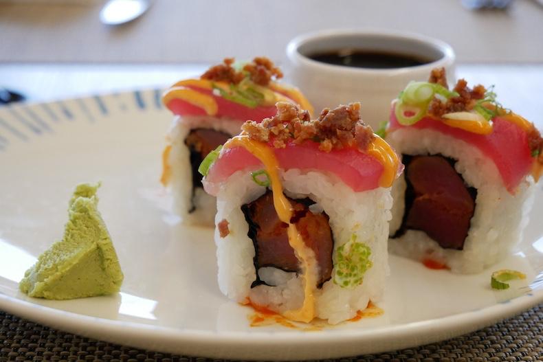 Photo of Sushi on Viking Sky before editing | CruiseReport