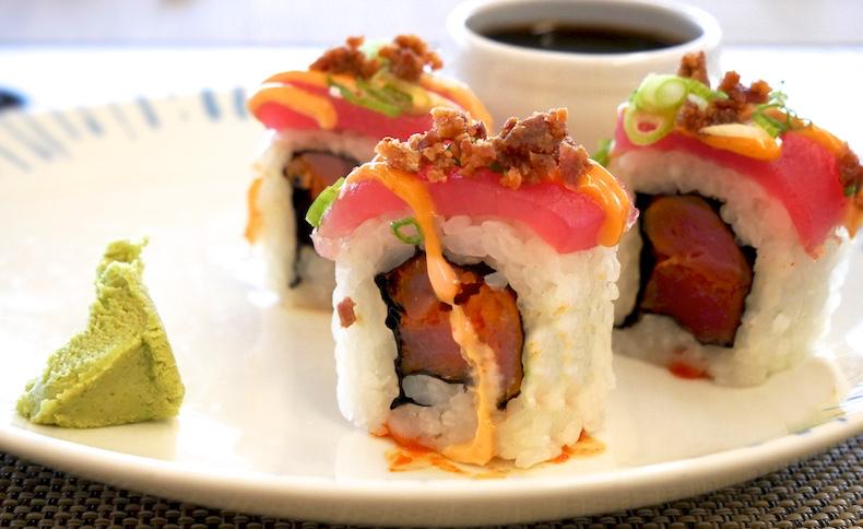 Sushi photo after cropping | CruiseReport