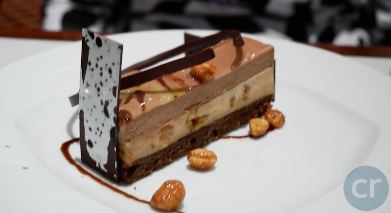 Chocolate Peanut Butter Bar served at Bayou Cafe on Island Princess  | CruiseReport