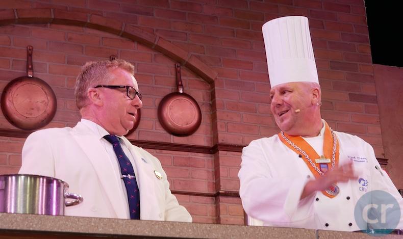 Silvio Zampieri and Chef Daumichen